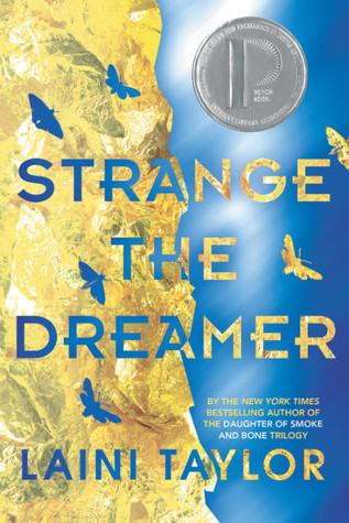 book cover of Laini Taylor's Strange the Dreamer
