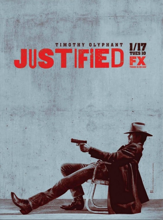 Justified Television Poster