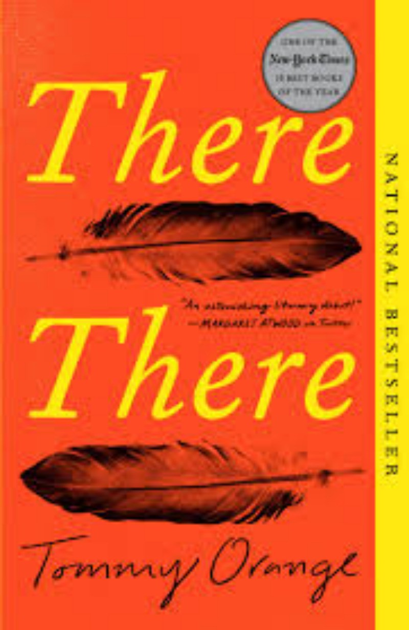 Book Cover of There, There by Tommy Orange