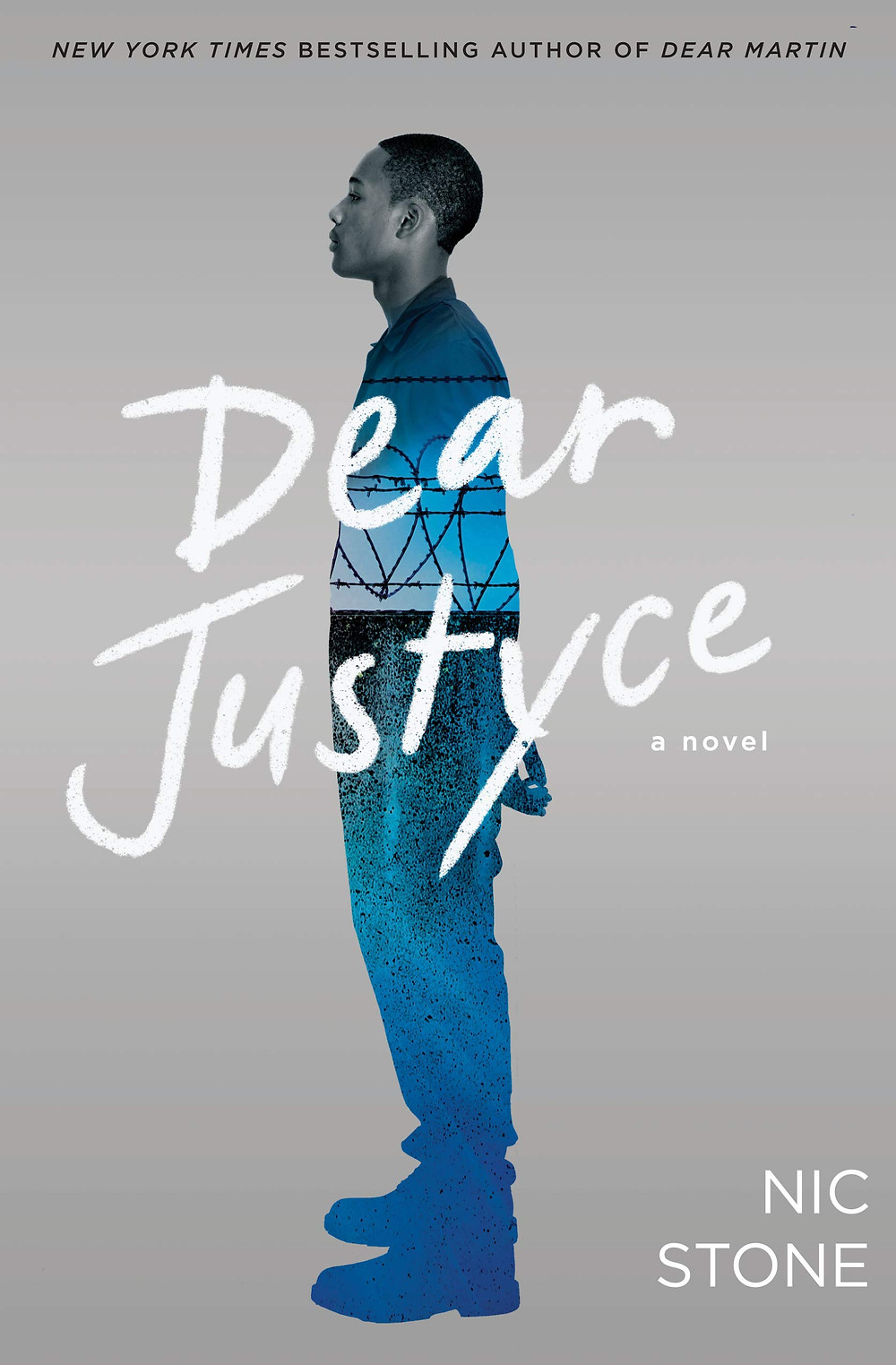 book cover of Nic Stone's Dear Justyce