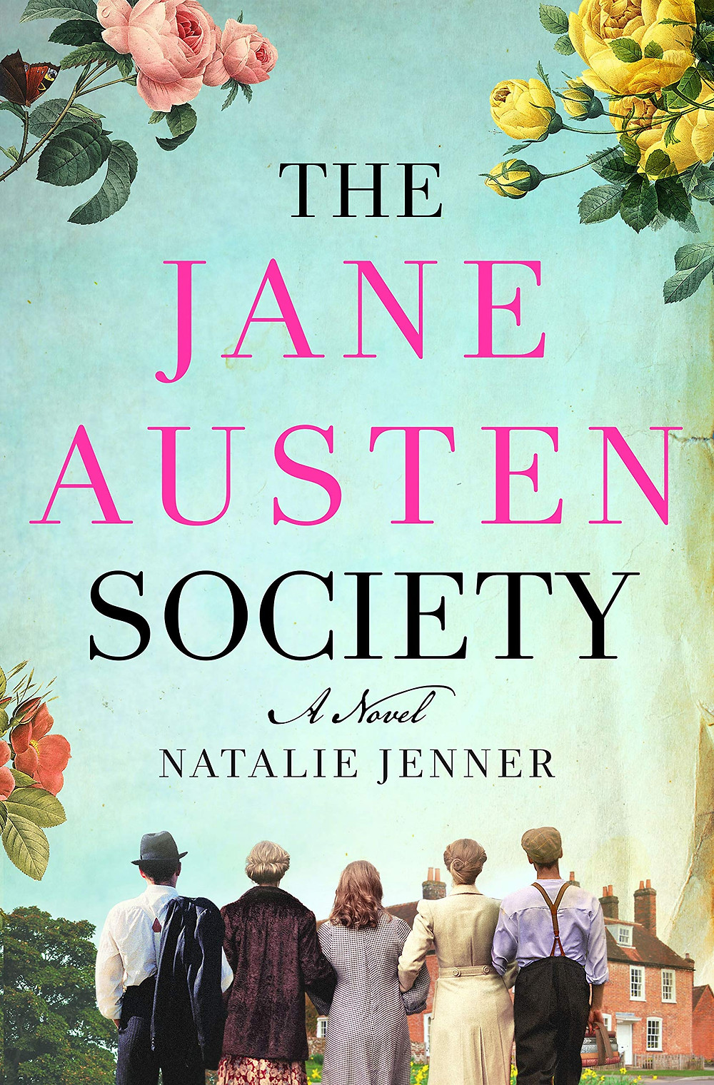 book cover of Natalie Jenner's The Jane Austen Society