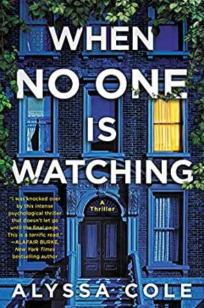 Book cover for Alyssa Cole's When No One is Watching