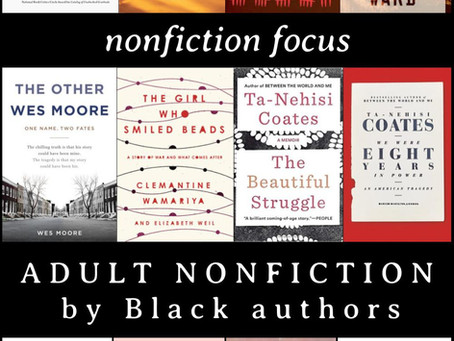 Adult Nonfiction by Black Authors