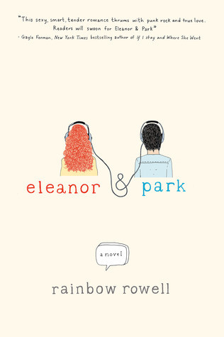 Book cover of Rainbow Rowell's Eleanor and Park