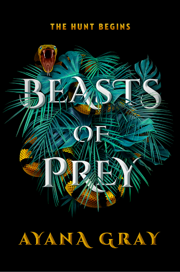 Book cover of Ayana Grey's Beasts of Prey