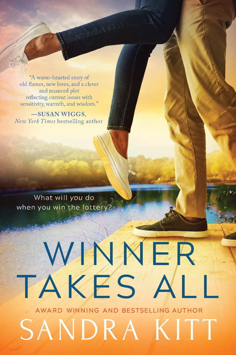 book cover of Sandra Kitt's Winner Takes All