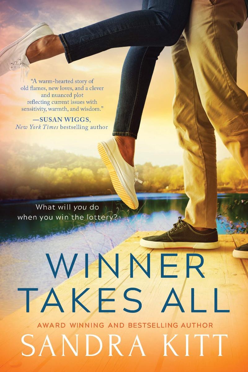 book cover of Sandra Kitt's Winner Takes All