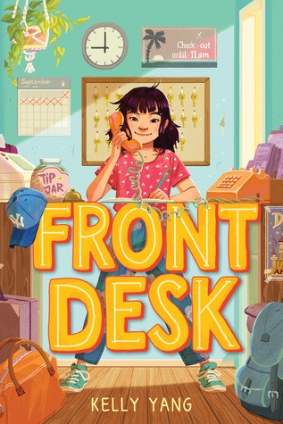 book cover of Kelly Yang's Front Desk