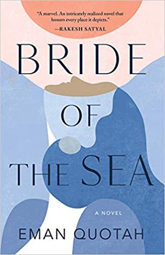 Book Cover Bride of the Sea by Eman Quotah