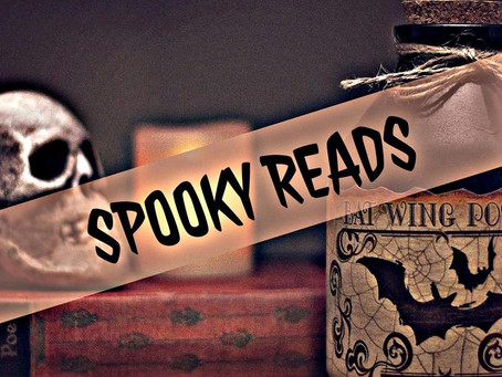 44 - A Chill Up the Back of Your Neck: Spooky Reads