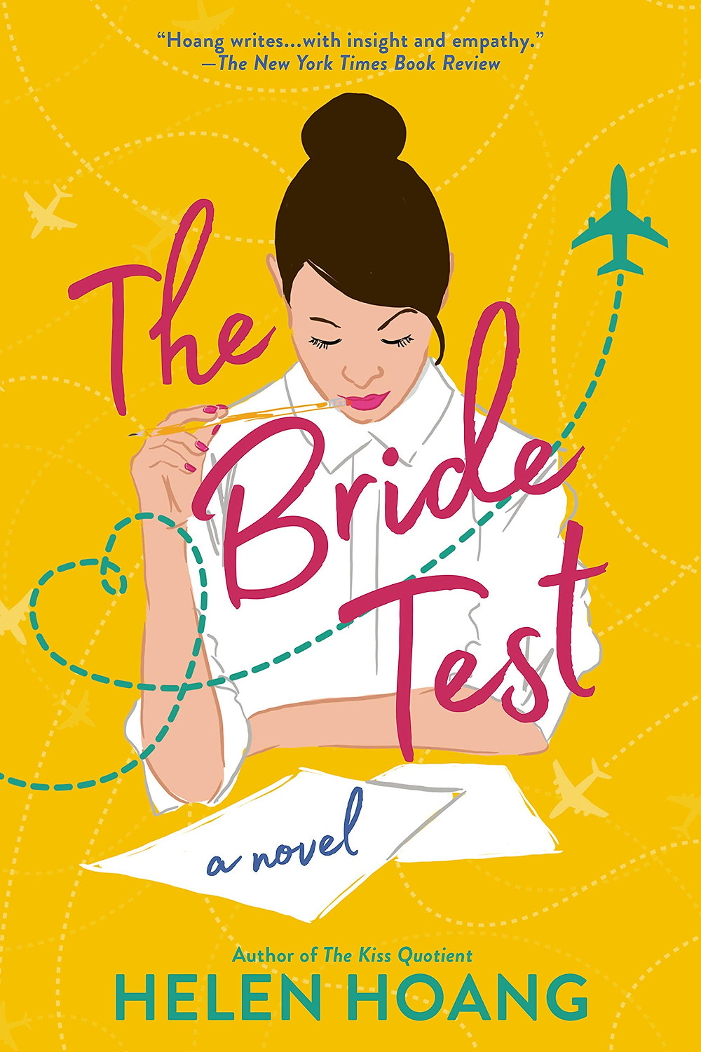 book cover of Helen Hoang's The Bride Test