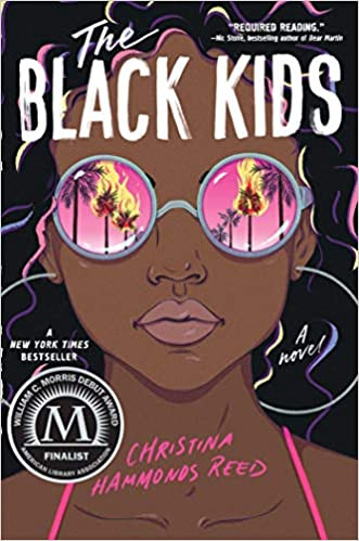 Book cover of The Black Kids by Christina Hammonds Reed