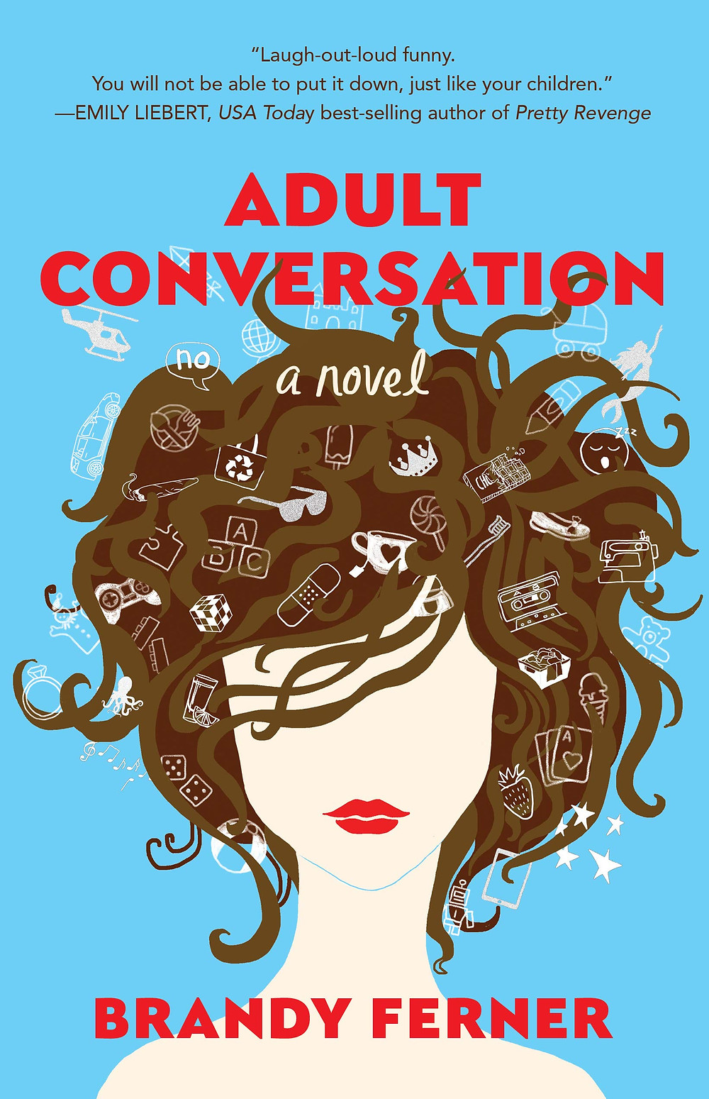 book cover of Brandy Ferner's Adult Conversation