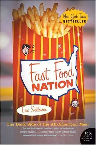 Book cover of Eric Schlosser's Fast Food Nation