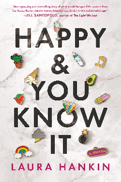 Book cover of Laura Hankin's Happy & You Know It
