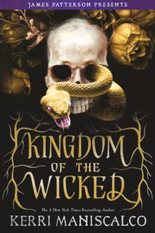 book cover of Kerri Maniscalco's Kingdom of the Wicked