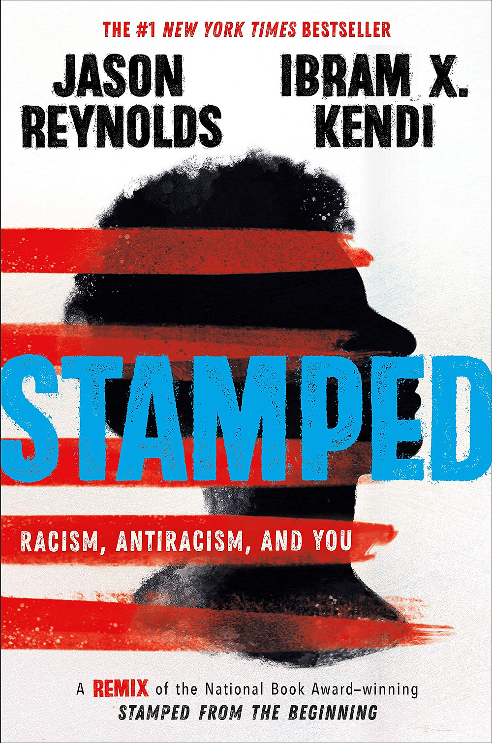 book cover of Jason Reynolds and Ibram X. Kendi's Stamped