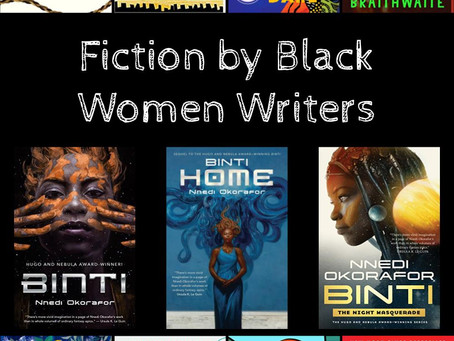 Fiction by Black Authors - Some Recent Favorites