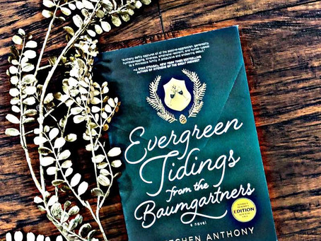50: Gretchen Anthony's EVERGREEN TIDINGS FROM THE BAUMGARTNERS - These Random People at Dinner