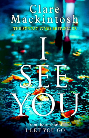 book cover of I See You
