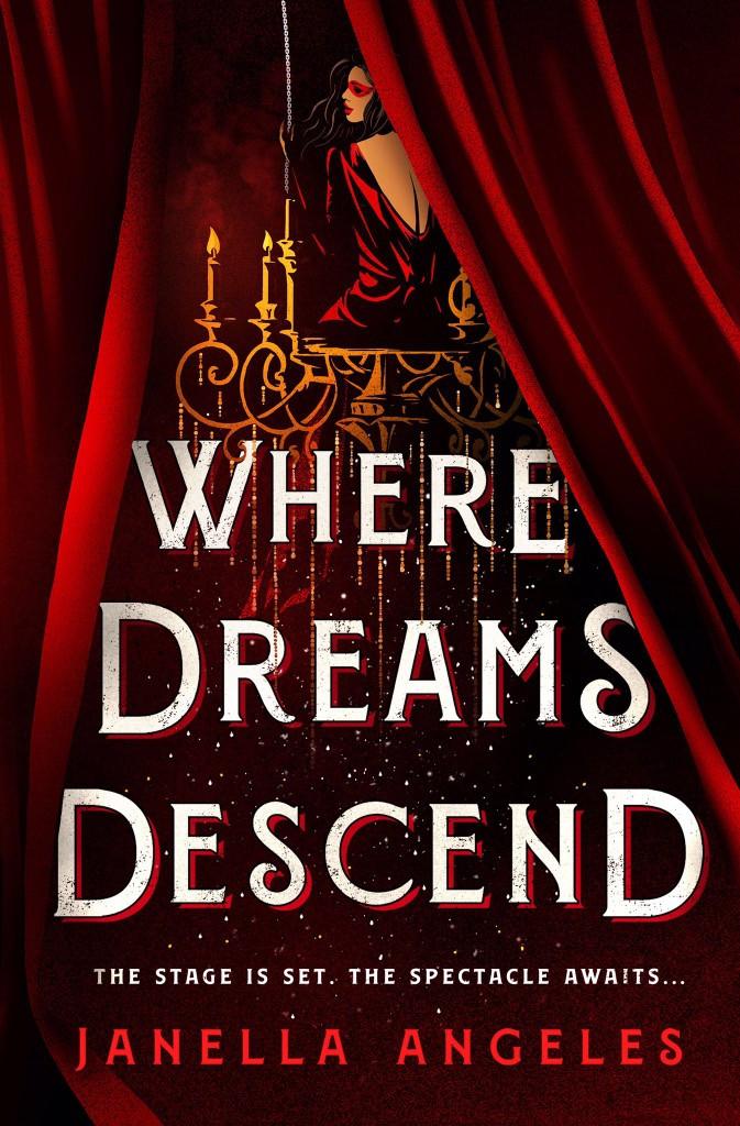 book cover of Janella Angeles's Where Dreams Descend