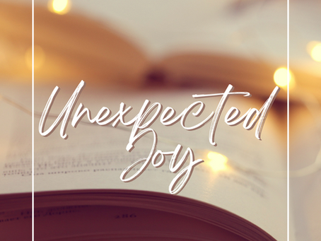 Unexpected Joy - 7 YA Lit and Middle-Grade Book Recs that Deliver More than You Expect