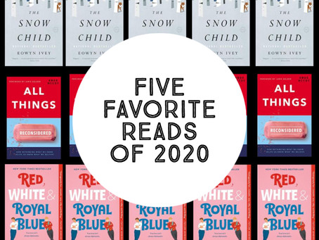 Some of Sara's Favorite Reads of 2020 (so far)