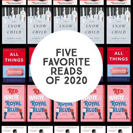 Some of Sara's Favorite Reads of 2021 (so far)