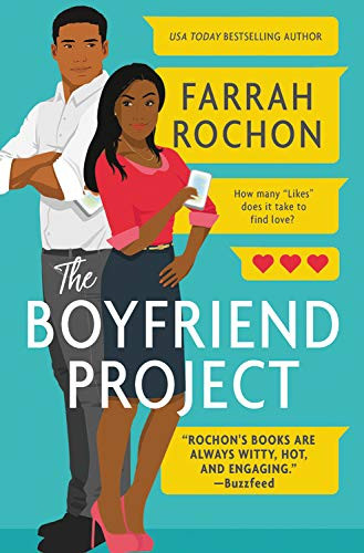 book cover of Farrah Rochon's The Boyfriend Project