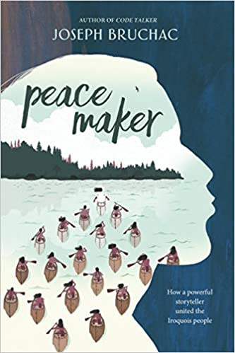 Book cover of Peacemaker by Joseph Bruchac