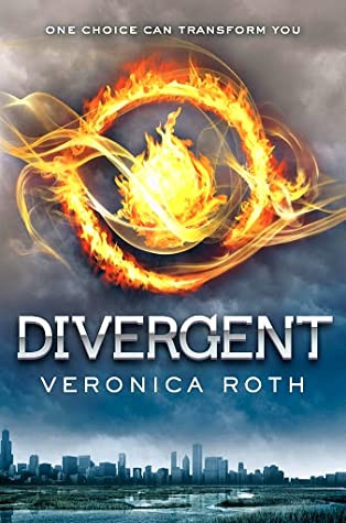 Book cover of Veronica Roth's Divergent
