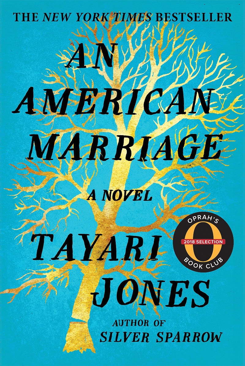 Book cover for Tayari Jones's An American Marriage