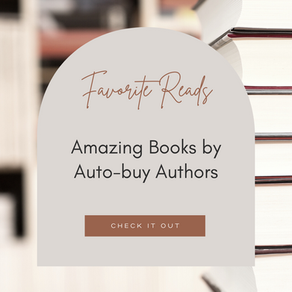 Favorites Reads by Auto-buy Authors