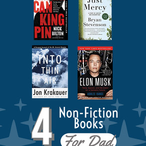 Four Non-Fiction Books Dad Would Love for Father's Day