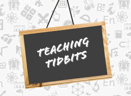 Teaching Tidbits #1: Reflecting on Virtual Teaching . . . 3 Weeks In