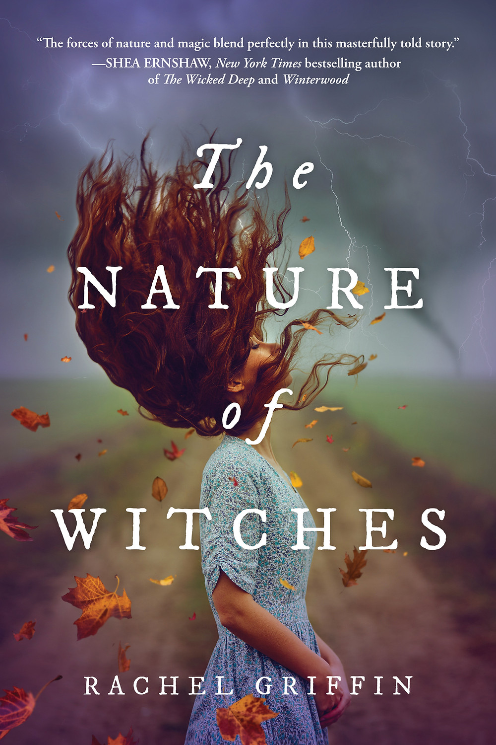 Book cover of Rachel Griffin's The Nature of Witches