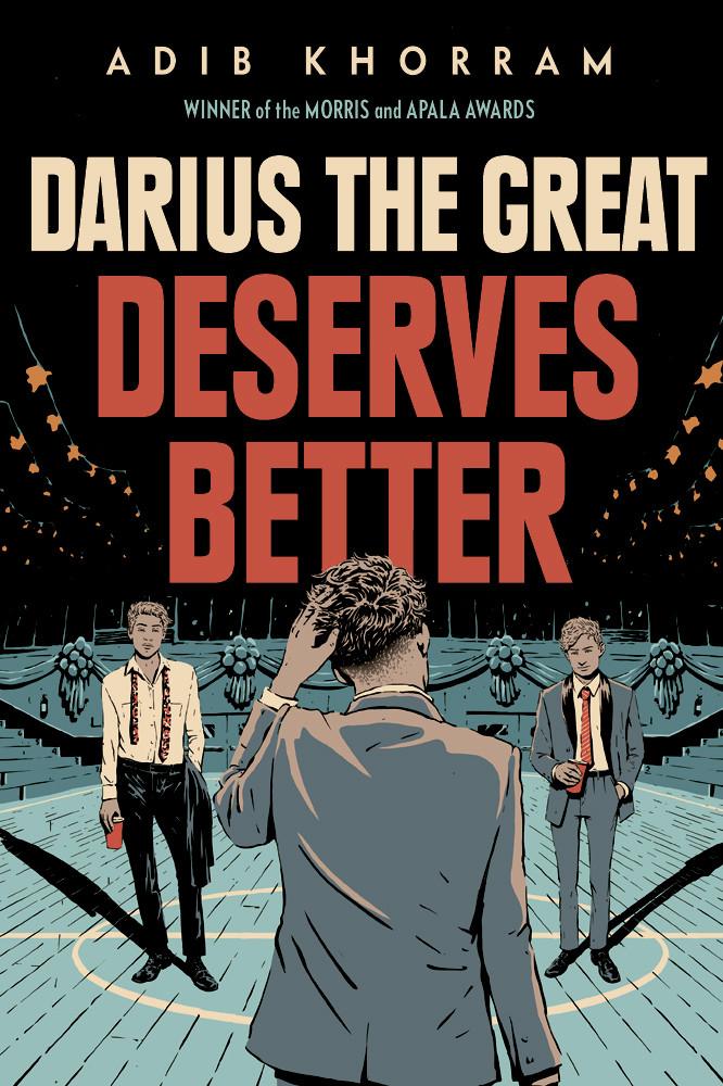 book cover of Adib Khorram's Darius the Great Deserves Better