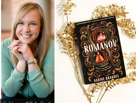 65: Interview with Nadine Brandes, Author of ROMANOV - That Was Really Captivating