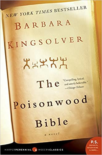 book cover of Barbara Kingsolver's The Poisonwood Bible