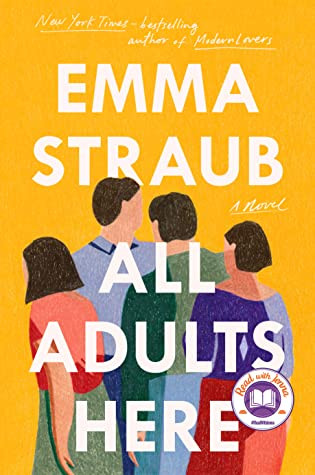 book cover of Emma Straub's All Adults Here