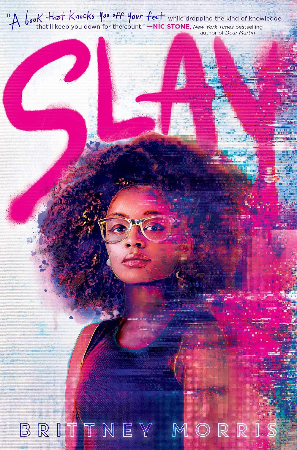 book cover of Brittney Morris's SLAY