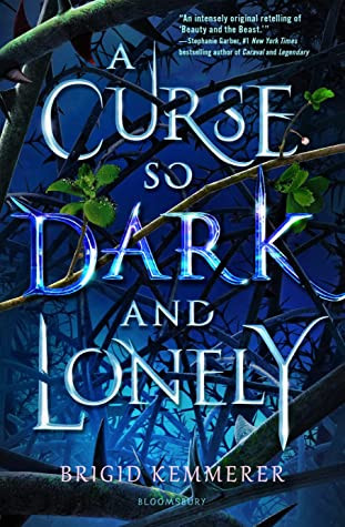 book cover of Brigid Kemmerer's A Curse So Dark and Lonely