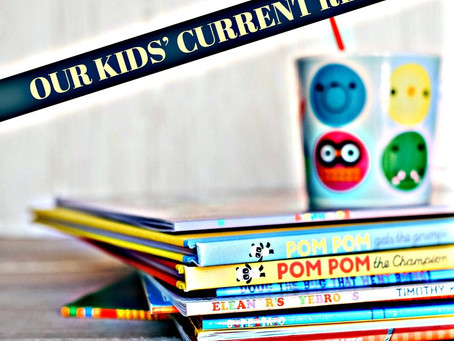 51: Our Kids' Current Reads - It Is Just So Precious