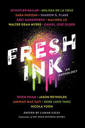 Book cover of editor Lamar Giles's Fresh Ink