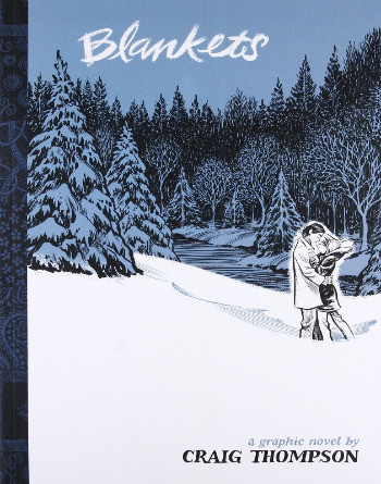 Book cover of Craig Thompson's Blankets