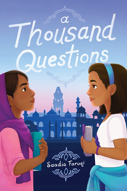book cover of Saadia Faruqi's A Thousand Questions