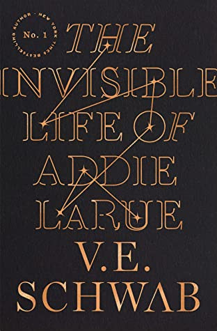 book cover of V. E. Schwab's The Invisible Life of Addie LaRue