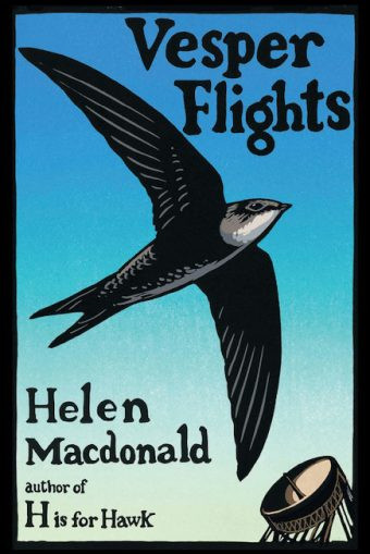 book cover of Helen Macdonald's Vesper Flights
