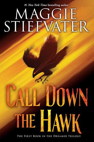 book cover of Maggie Stiefvater's Call Down the Hawk