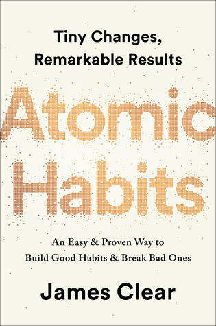 book cover of James Clear's Atomic Habits